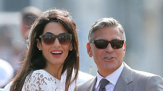 Amal Alamuddin a George Clooney koupili první společnou nemovitost.