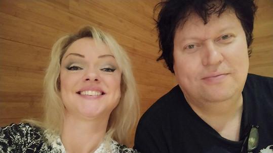 Dominika Gottová a její manžel Timo Tolkki