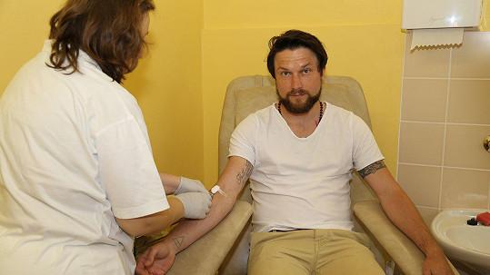 Czenda Urbánek se zapojil do registru dárců krevní dřeně.