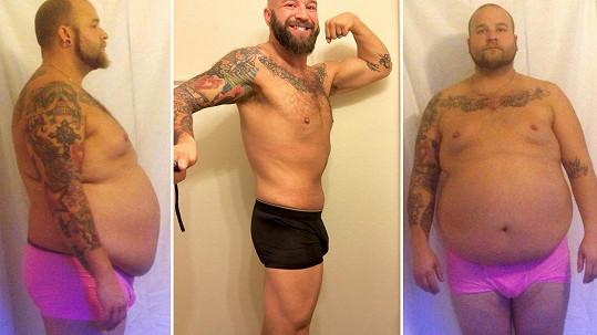 Až zdravotní problémy ho donutily změnit životosprávu. A Kyle z Texasu v USA k tomu přistoupil radikálně.