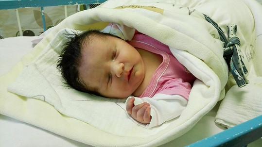 Dcera Petry Slaninové Stella