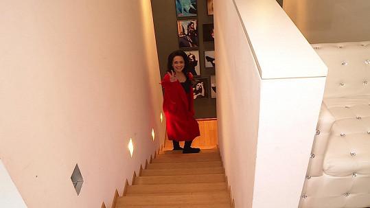 Lucie Bílá v kulturáku v Otvovicích