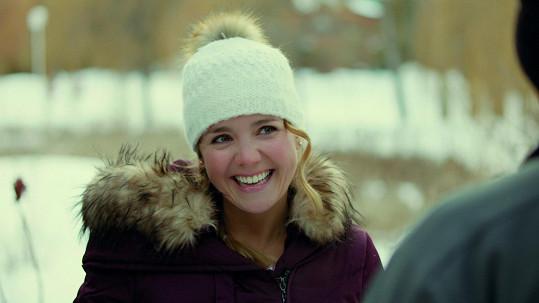 Lucie Vondráčková ve filmu The Perfect Kiss
