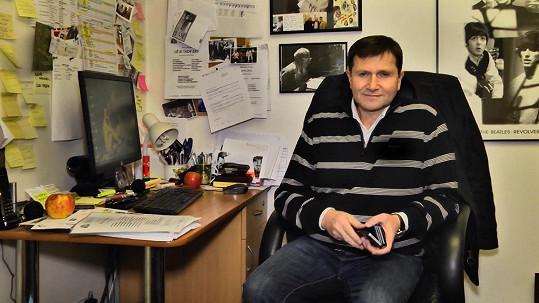 Jan Hrušínský promluvil o zdraví...