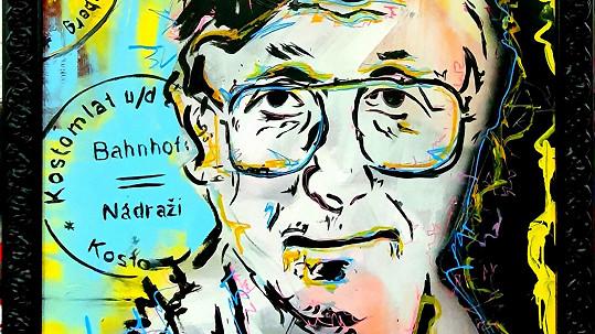 Jiří Menzel na portrétu