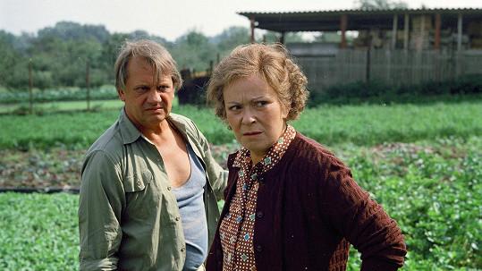Miloslav Štibich a Jiřina Bohdalová