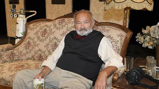 Rudolf Hrušínský slaví životní jubileum.