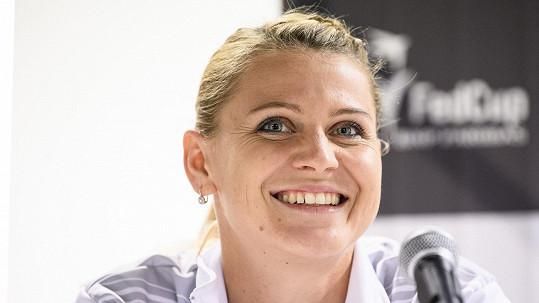 Lucie Šafářová už je fit.