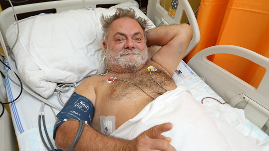 Václav Upír Krejčí se zranil.
