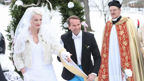 Anna Polívková a Jan Révai ve filmu Špindl