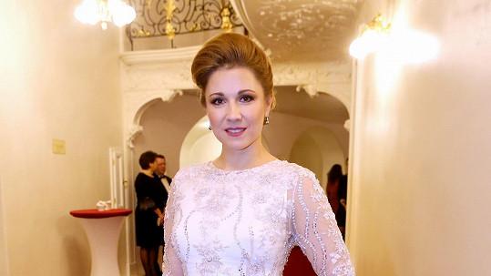 Operní pěvkyně Kateřina Kněžíková