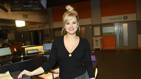 Patricie Pagáčová je posilou primáckého seriálu.