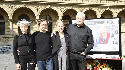 Rodina vzpomínala na Vladimíra Brabce.