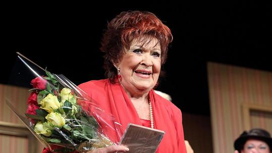 Jiřina Bohdalová předčasně slavila 85. narozeniny.