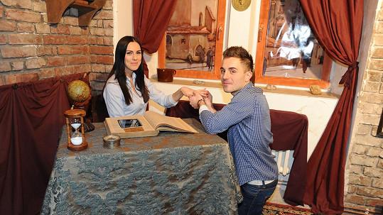 Lukáš a Petra se za pomoci Super.cz dnes zasnoubili!
