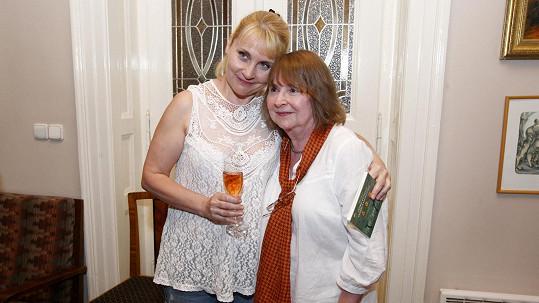 Veronika Gajerová a její sestra Naďa