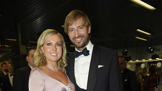 Adam Vojtěch s manželkou Olgou