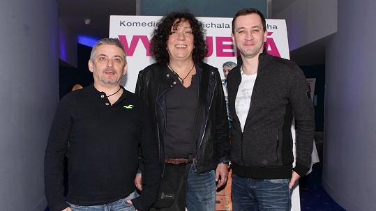 Michal Suchánek, Richard Genzer a Ondřej Sokol na archivním snímku