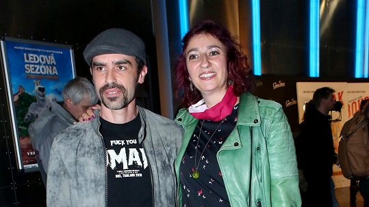 Simona Babčáková a Ian Adensam vyrazili do kina.