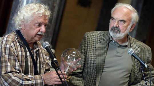 Ladislav Smoljak a Zdeněk Svěrák