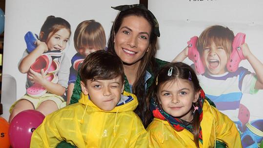 Eva Decastelo slaví Velikonoce hlavně kvůli dětem.