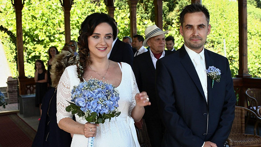 Libuška Rohlíčková s manželem Zdeňkem