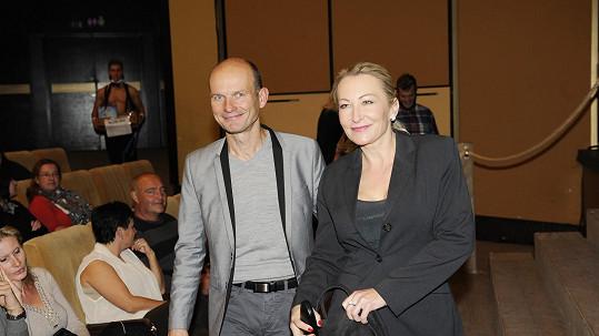 Dalibor Gondík s manželkou