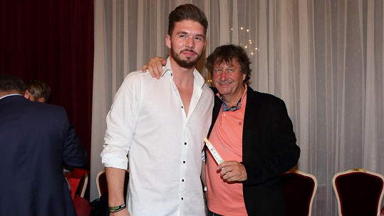 Stanislav Hložek se synem