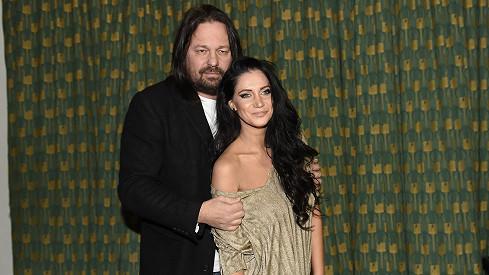 Jirka Pomeje s manželkou Andreou