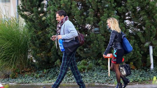 Emanuele Ridi a Lucie Hunčárová spolu tráví opravdu hodně času....