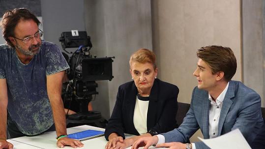Na Evu Holubovou už čekají na natáčení nových dílů seriálu Slunečná