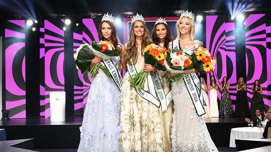 Vítězky Miss Face 2016