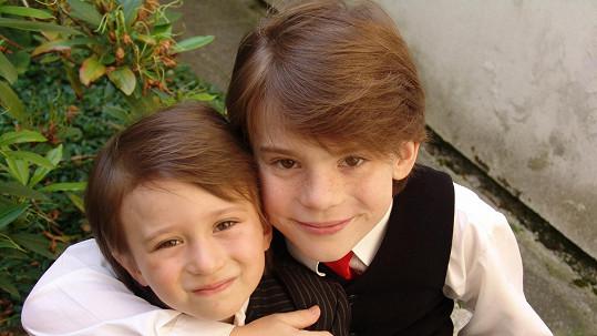 Bráškové Viktor a Filip Antoniovi