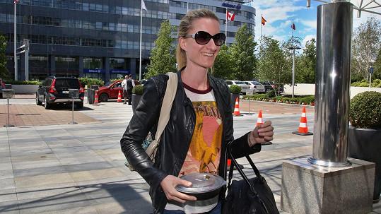 Nejpopulárnější slovenská moderátorka dokonce na chvíli vykouzlila úsměv.
