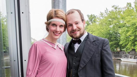 Henrieta Hornáčková s partnerem
