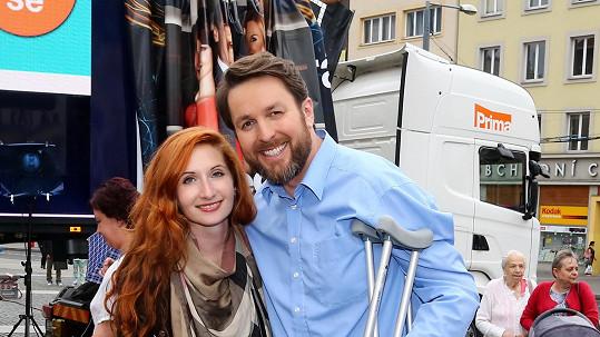 Tomáš Hauptvogel s manželkou