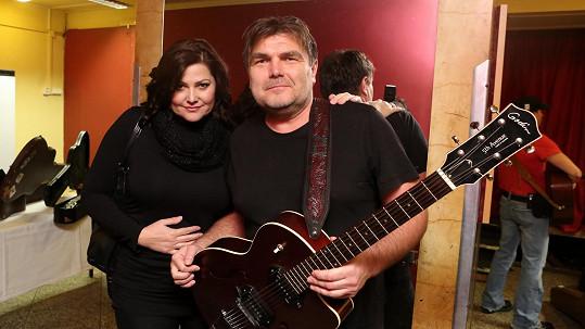 Ilona Csáková a Roman Horký