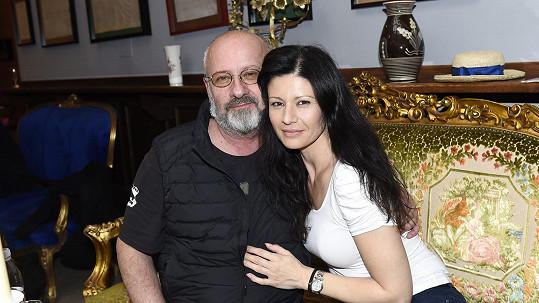 Petr Kratochvíl s Pavlínou Babůrkovou