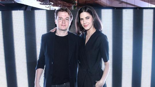 Aneta s přítelem Petrem Kolečkem
