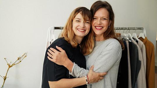 Marika Šoposká i Andrea Růžičková jsou velké kamarádky.