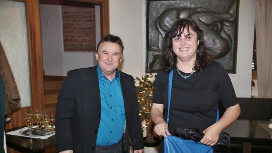 Jaroslav Sypal s manželkou