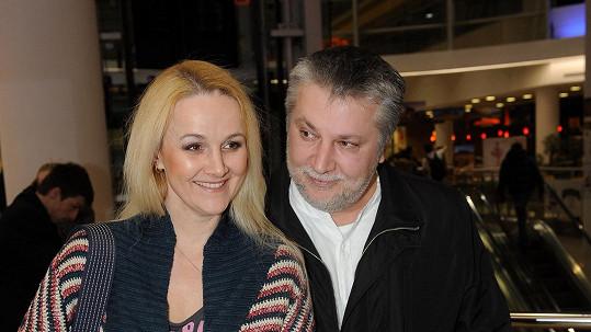 Linda Finková s přítelem Milanem
