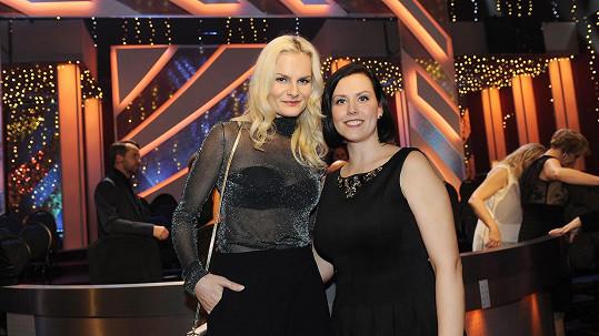 Iva Pazderková a její sestra Věra