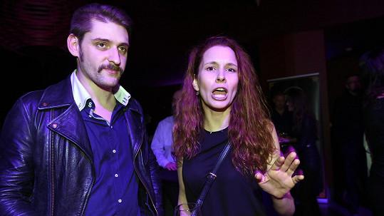 Denisa Nesvačilová s přítelem Honzou