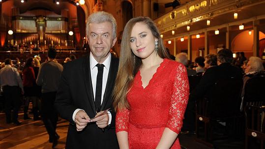 Jaroslav Svěcený s dcerou Julií