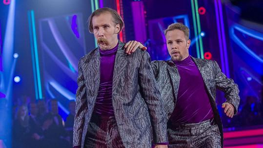 Jana Ondera střídá na pozici hlavního choreografa Marek Zelinka (vlevo).