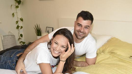 Monika Leová s s manželem Martinem