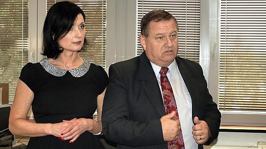Jiří Petrášek se Simonou Chytrovou ve Stopách života
