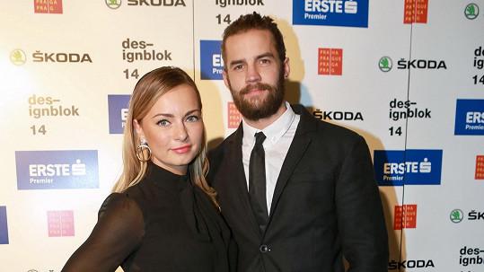 Markéta Jakšlová s dnes již manželem Janem Plecháčem
