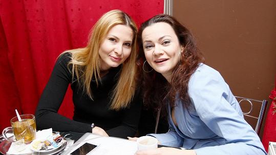 Ivana Gottová s kolegyní Vandou Konečnou